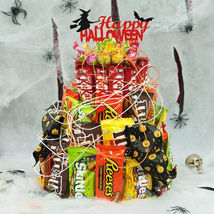 Halloween Candies Tower: Halloween Chocolates