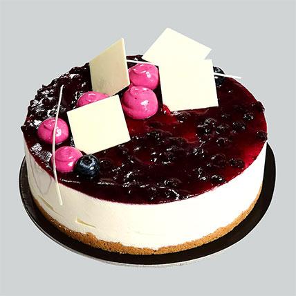 Blueberry Cheesecake: Cakes