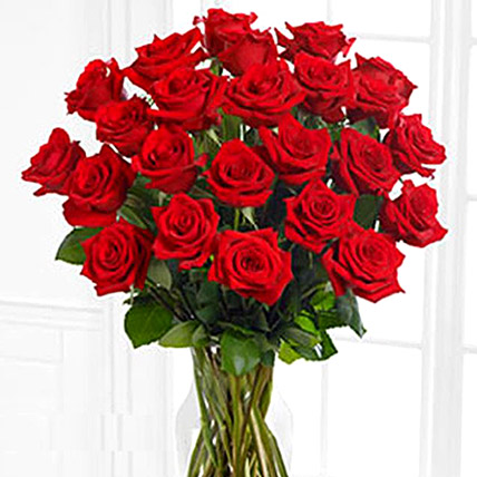 50 Red Roses Bunch: Pakistan Gift