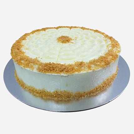 Delicious Cocunut cake: Send Cake to Qatar