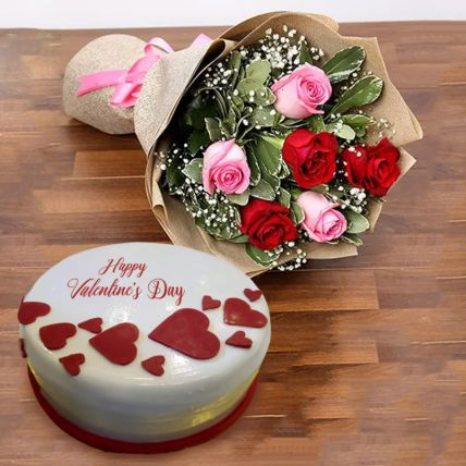 Valentine Surprise Combo: Valentines Gifts Delivery in Qatar