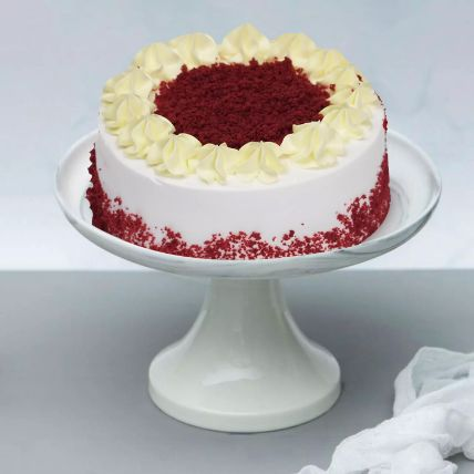 Creamy Red Velvet Cake: Send Cake to Qatar