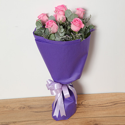 Bouquet Of Pink Roses SA: Send Flowers to Saudi Arabia