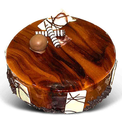 Brown Chocolate Cake:  Gift Delivery In Sri Lanka