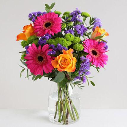 Piccasso Floral Vase:  Gifts UK