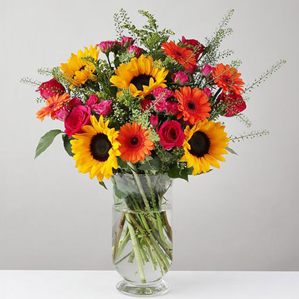 Summer Celebration Vase:  Gifts UK