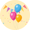 balloons for birthday