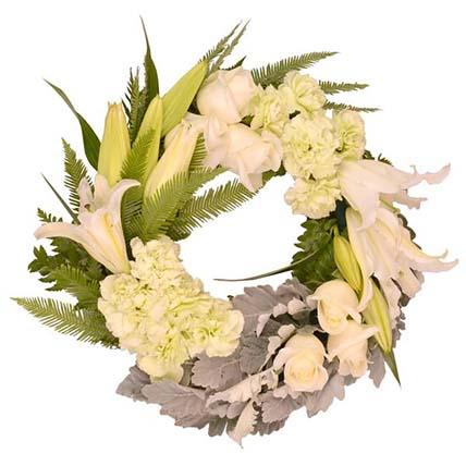 Classic Flower Wreath