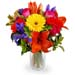Bright Mixed Flowers Bouquet