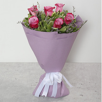 Bouquet Of Purple Roses BH