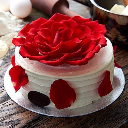 Delightful Rose Cake 1 Kg