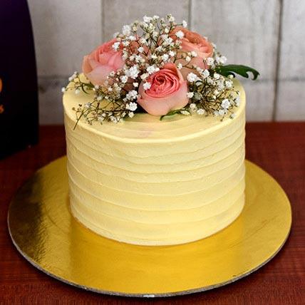 Exotic Pistachio Rose Cake Half Kg