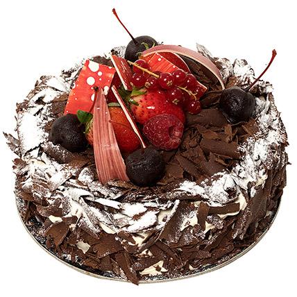 4 Portion Blackforest Cake
