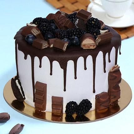 Delicious Choco Vanilla Cake 1Kg