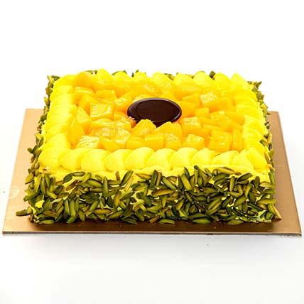 Mango Mousse Cake Half Kg
