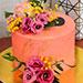 Flowerly Chocolate Cake 1 Kg