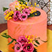 Flowerly Chocolate Cake 1.5 Kg