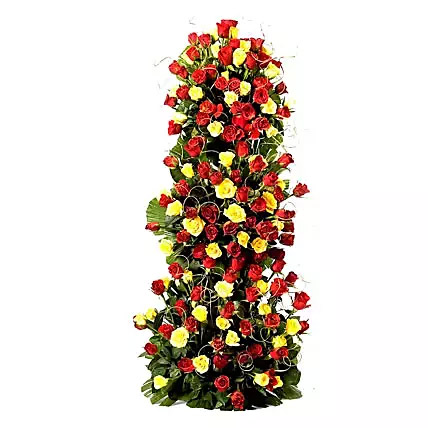 Endless Love 100 Roses Floral Tower