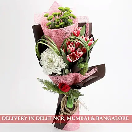 Exotic Pink Passion Bouquet