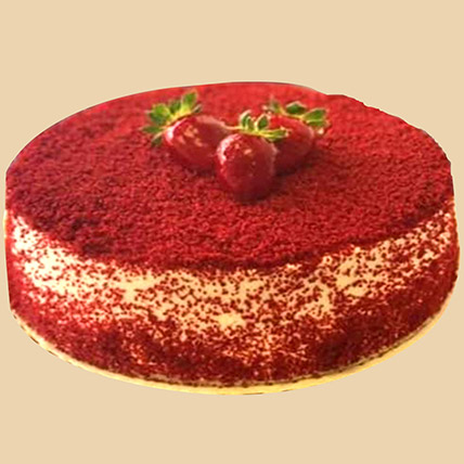 Smooth Red Velvet Cake