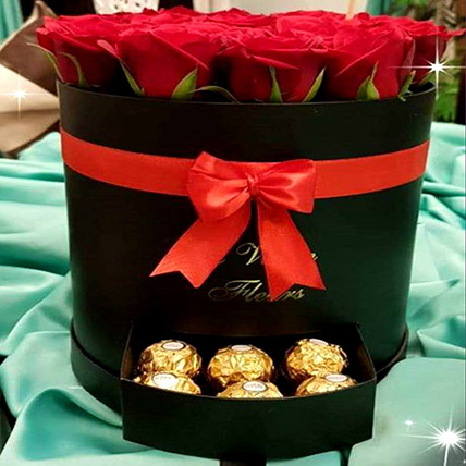 Chocolates and Roses Combo