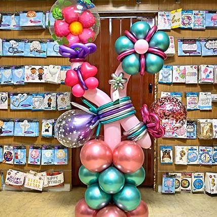 Birthday Baby Balloon Ornaments