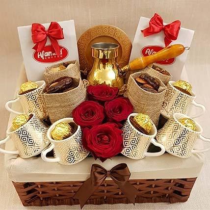 Choco Cafe Delight Basket