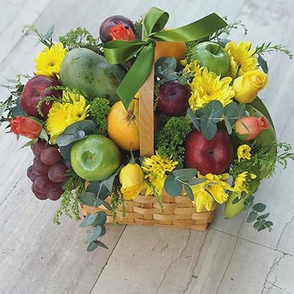 Get Well Soon With Fresh Fruits Basket