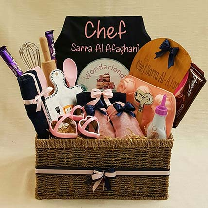 Personalized Kitchen Set Basket