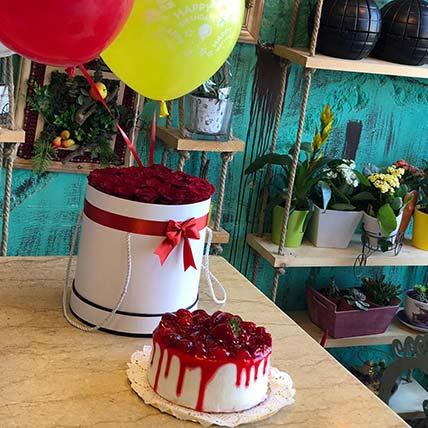 Strawberry & Rose Surprise