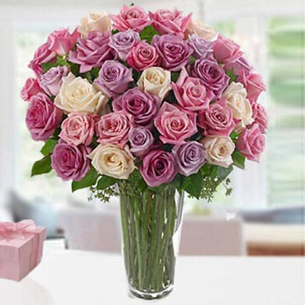 3 Dozen Mix Roses