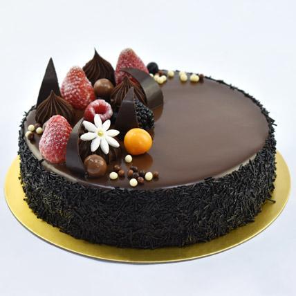 Fudge Cake 8 Portion