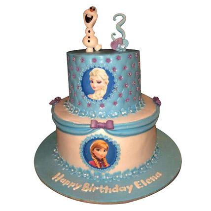 Frozen Starcast Cake