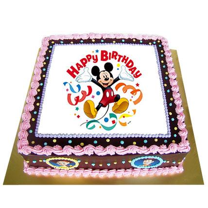 Fancy Photo Cake 2 Kg Black Forest Cake