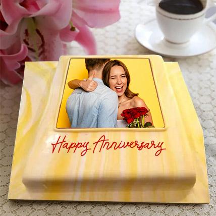 Couple Framed Photo Cake- Truffle 1 Kg