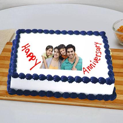 Happy Anniversary Cake 2 Kg Pineapple Cake