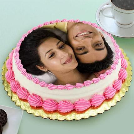 Personalized Cream Cake 3 Kg Vanilla Cake