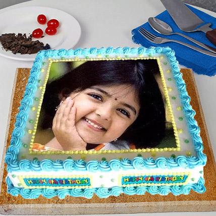 Radiant Photo Cake 2 Kg Vanilla Cake