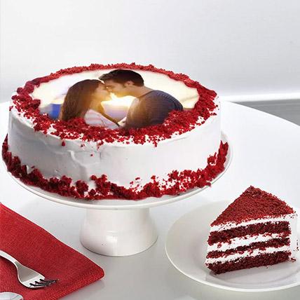 Velvety Photo Cake 2 Kg Black Forest Cake