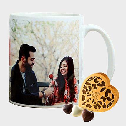 Personalised Mug and Godiva Chocolates