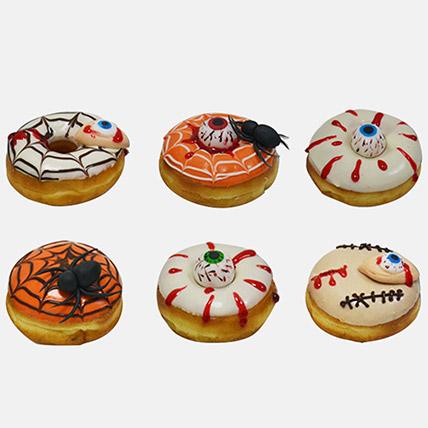 Halloween Donuts 6Pcs