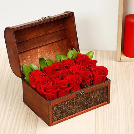 Treasured Roses Red