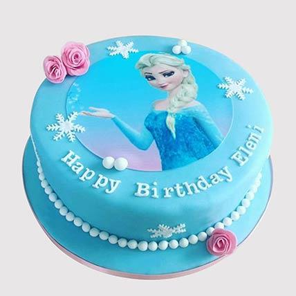 Admirable Elsa From Frozen Chocolate Cake In Uae Gift Elsa From Frozen Funny Birthday Cards Online Inifodamsfinfo