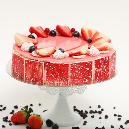 Strawberry Flavour Cake- 1 Kg