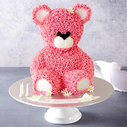 Lovely Teddy Bear Cake