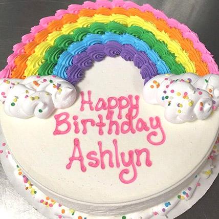Rainbow Birthday Cake 1 Kg