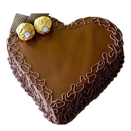 Heart Choco Cake LB