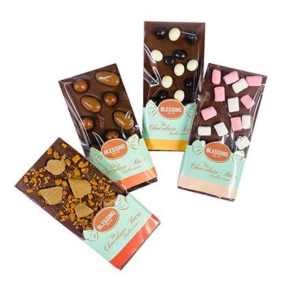 Chocoholic Bundle 4 Gourmet Chocolate Bars