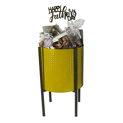 Worlds Greatest Pop Chocolate Gift Yellow