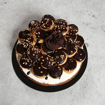 16 Portion Chocolate Profiterole OM